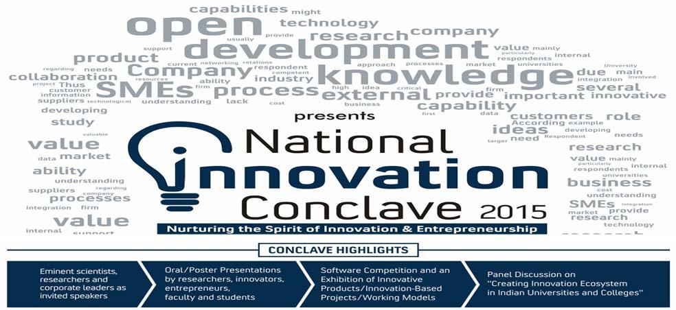National Innovation Conclave 2015 at Amity University Gurgaon