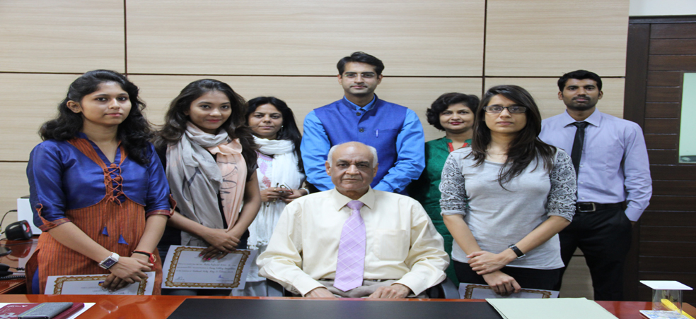 Amity University Madhya Pradesh Celebrates Birth Anniversary of Sardar Vallabh Bhai Patel