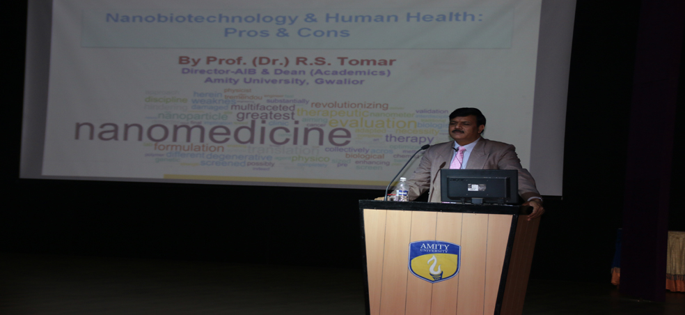 Amity Institute of Biotechnology organizes DBT Sponsored Popular Lecture Series on Biotec