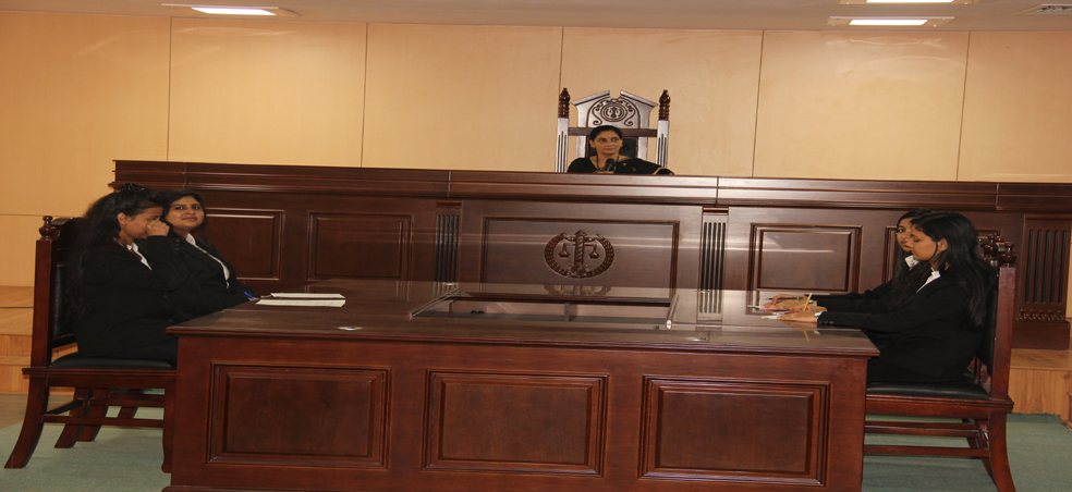 Amity Law School, Amity University Madhya Pradesh organizes the First Mock Parliament