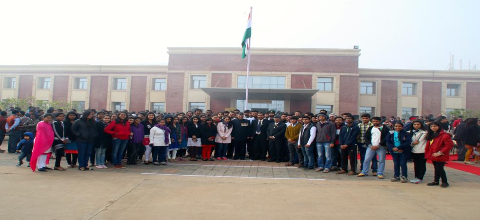 Amity University Madhya Pradesh Celebrated 67th Republic Day