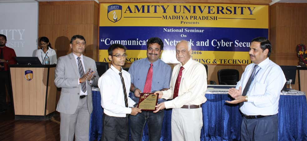 "Amity School of Engineering & Technology organizes National Seminar on ""Communication, Ne"