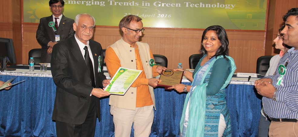 "National Seminar on ""Emerging Trends in Green Technology"""