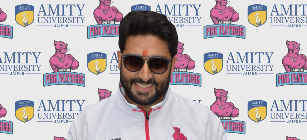 Jaipur Pink Panther Team at Amity Campus