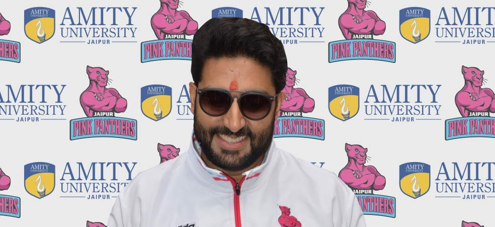 Jaipur Pink Panthers Team at Amity Campus