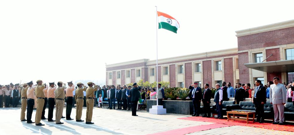 Amity University Madhya Pradesh Celebrates 68th Republic Day 2017