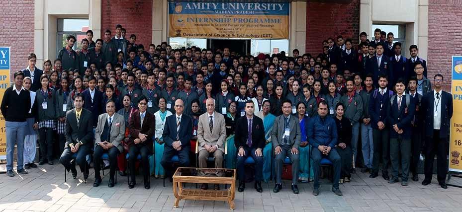 Amity University Madhya Pradesh organizes INSPIRE Internship Programme 2017