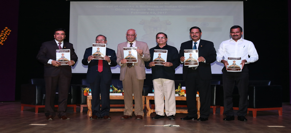 "Amity Law School organizes a National Seminar on ""Concept of Checks & Balances in Indian"