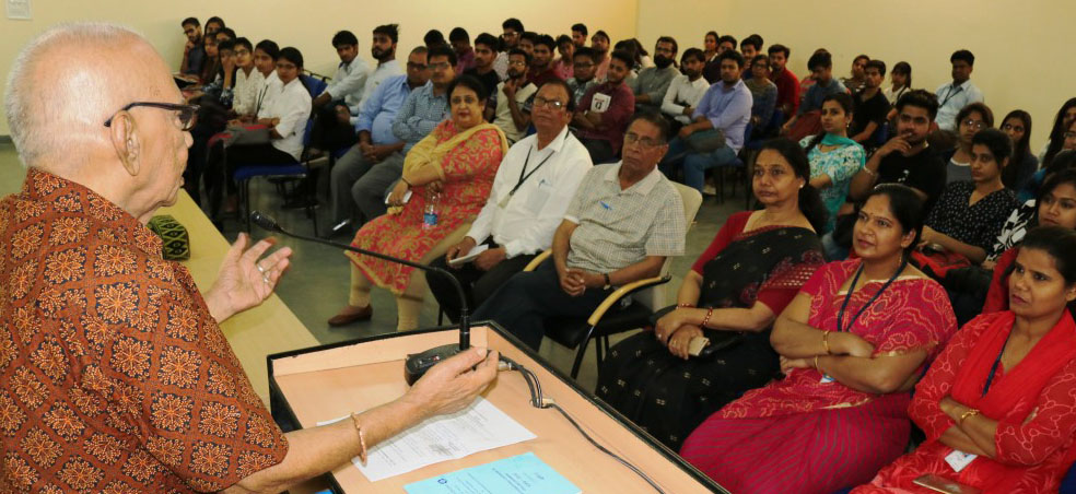 Amity University Rajasthan organised Guest Lecture on