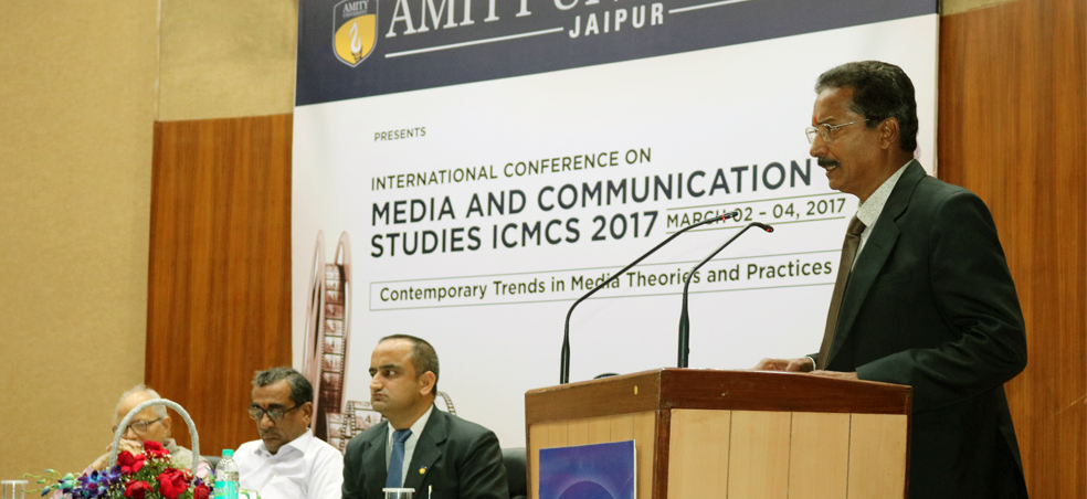Amity university Rajasthan organised International conference on