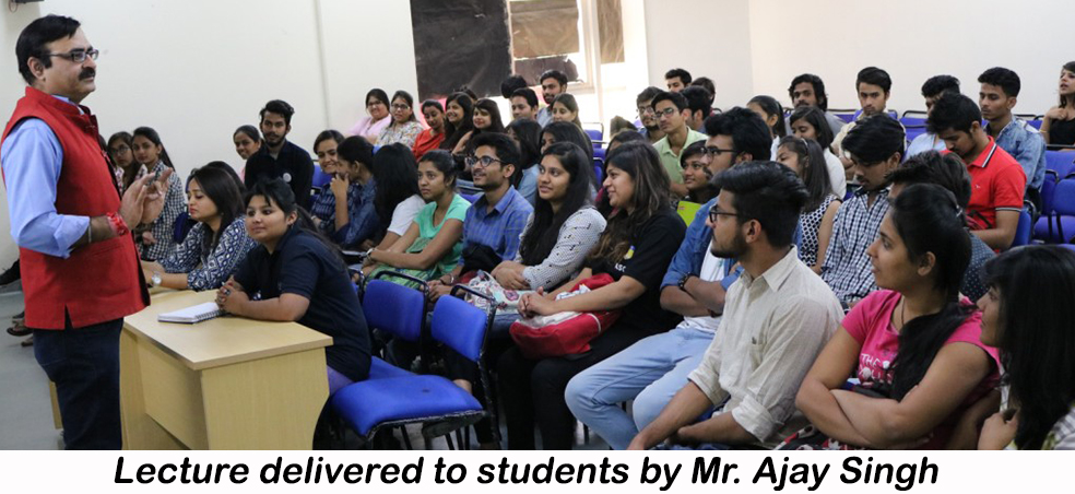 """Amity University organised Guest Lecture on """"Basics of Audio Production and Programming"""""""