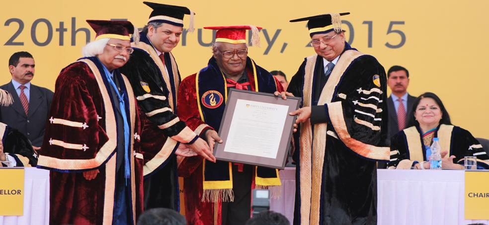 1038 Graduands Conferred with Degrees and Diplomas during the First Convocation of Amity