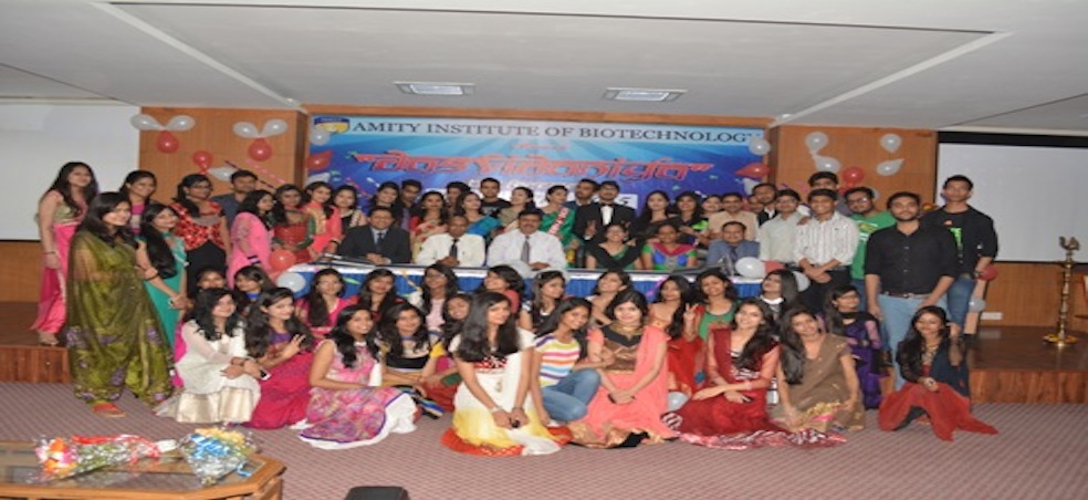 Amity University Madhya Pradesh Organises Farewell function for the final year students o