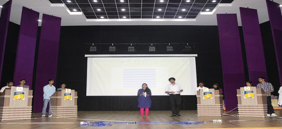 Amity University Madhya Pradesh organizes Annual Quiz 2015