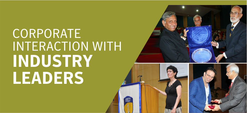 Corporate Interaction with Industry Leaders
