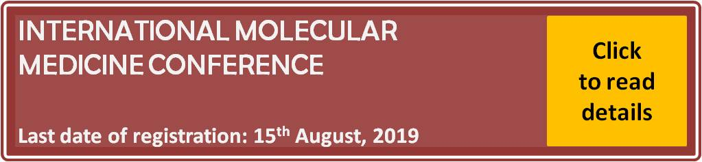 "International Molecular Medicine Conference ""From Bench to Bedside and Beyond"""