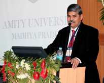 Prof. (Dr.) R K Sharma, delivering his talk on Gold Mine