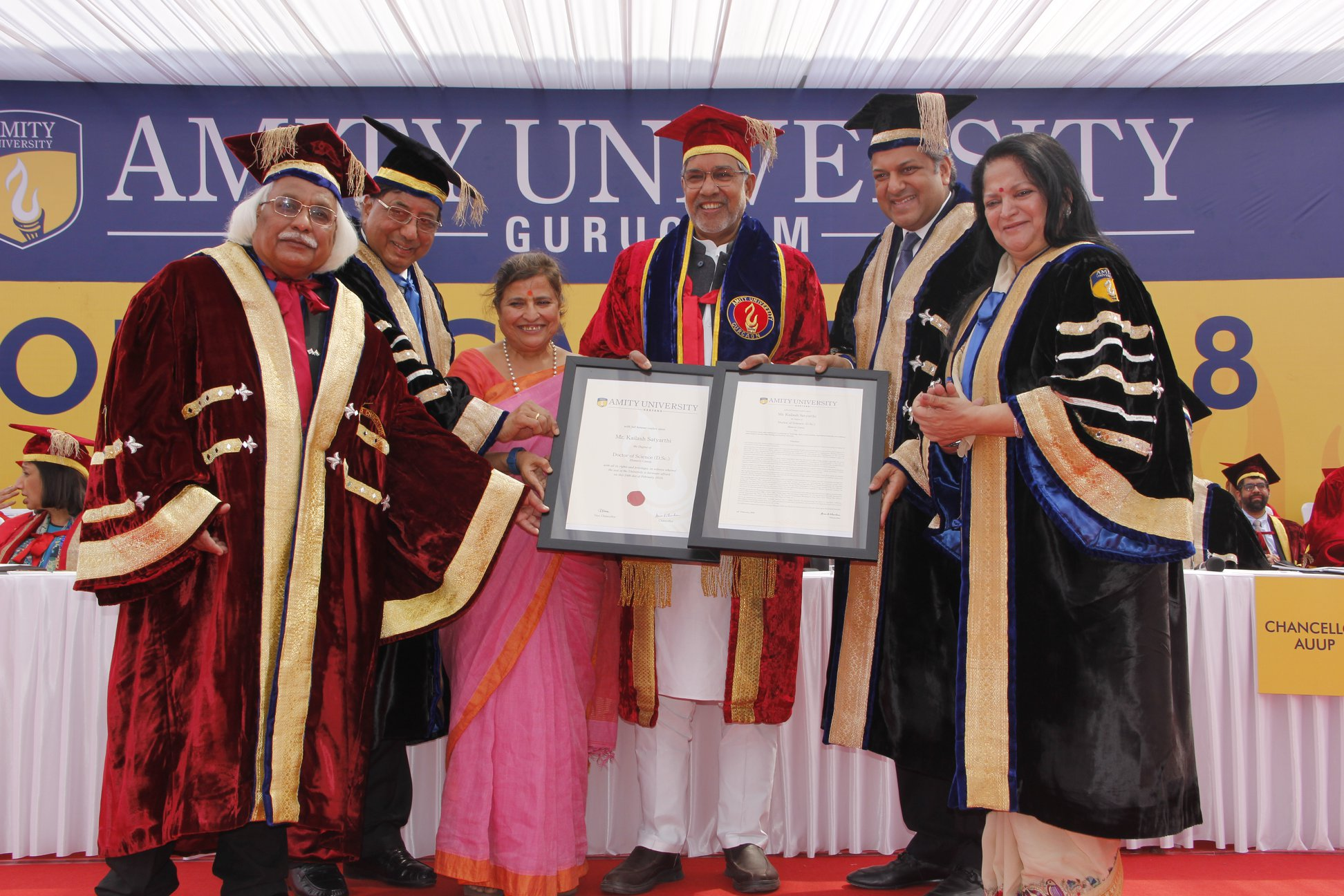 Amity University Gurugram Convocation 2018