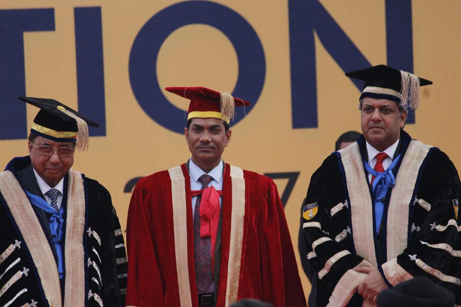 AUG confers Honorary Doctorate upon Dr. Trilochan Mohatra, Secretary Dept of Agricultural Research and Education