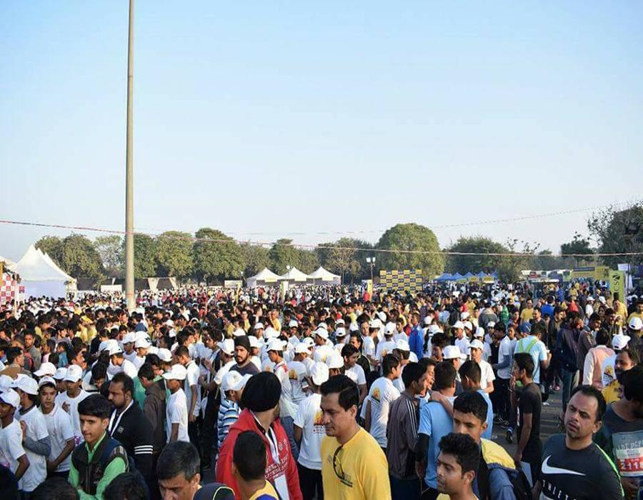 Amity Gurgaon Half Marathon