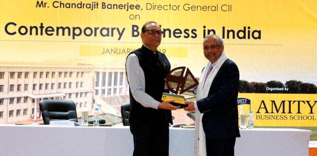 Invited Talk from Director General, CII - Jan 29, 2019