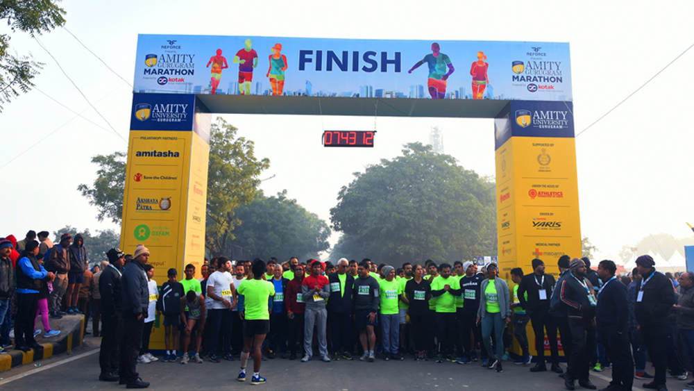 Amity Gurugram Marathon 2019