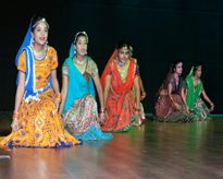 Students during the Cultural Programme