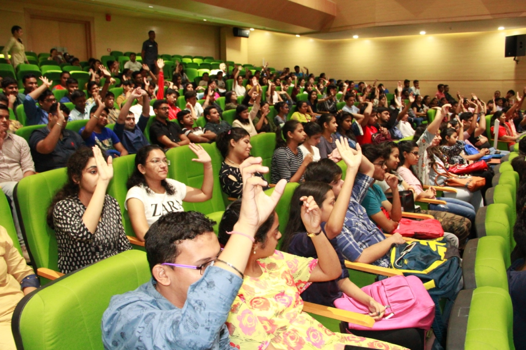 Students during the Orientation Session