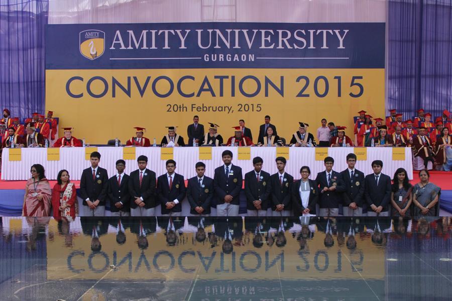 Amity University Gurgaon First Convocation 2015