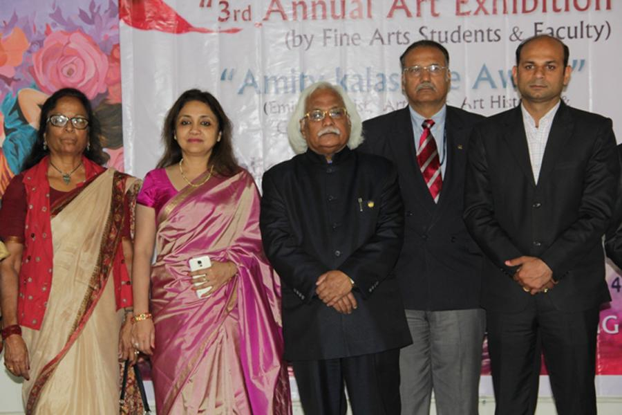 Honorable Vice Chancellor, Pro Vice Chancellor with Director- Marketing-Promotions