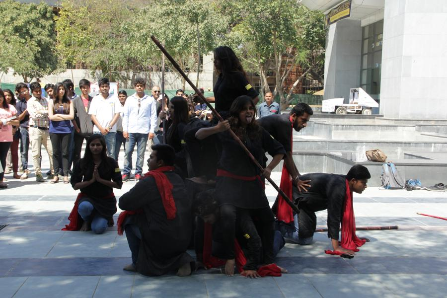 Nukad Natak by Amity School of Communication Students
