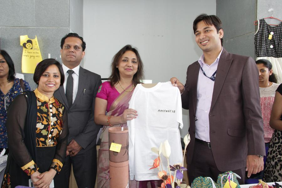 Stall of Amity School of Fashion Designing Students