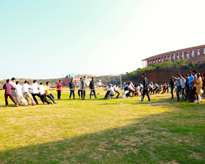Staff Tug of War