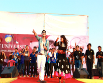 Mr Himansh Kohli, Star of Yaariyan Fame performing with the Amitians