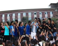 Mr Himansh Kohli, Star of Yaariyan Fame with the Amitians