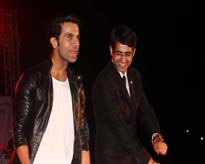 Mr Rajkumar Rao, Film Star performing with Dr Sumit Narula, Head, Amity School of Communication, AUMP