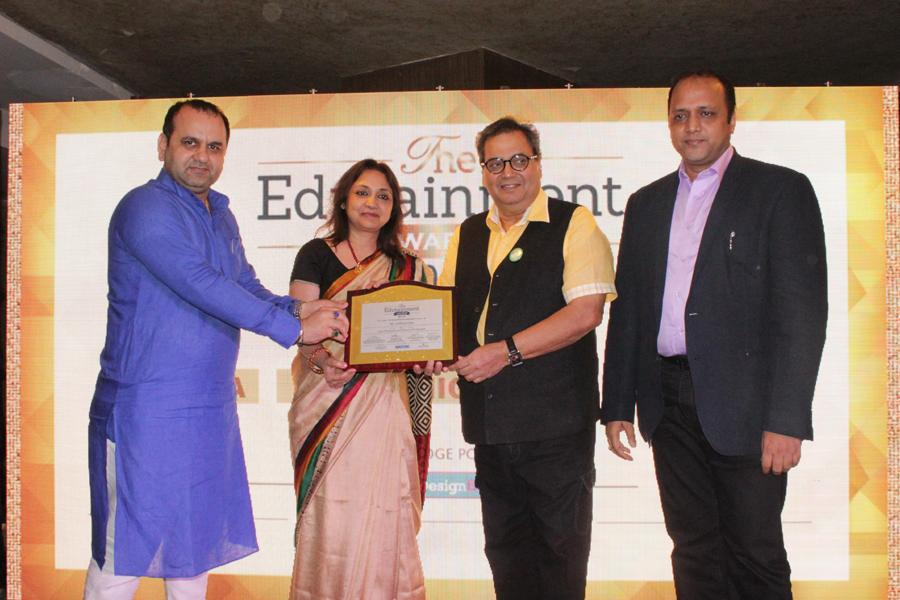 Life Time Achievement Awards to Subhash Ghai at Edutainment Awards 2015