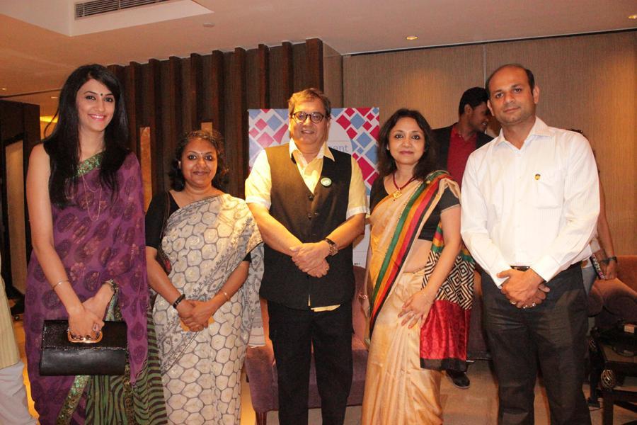 Amity Team with Filmmaker Subhash Ghai