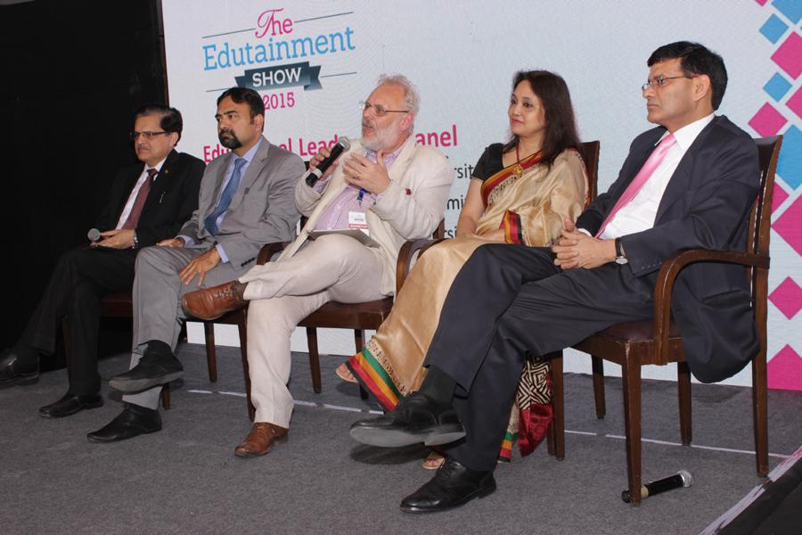 VC Panel Meet at Edutainment Awards 2015  2nd From Right - Prof Dr Padmakali Banerjee Pro-Vice Chancellor AUG