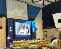 Dr. Ashok K Chauhan, H'ble Founder President, Amity at Vigyan Bhavan on World Youth Skills Day