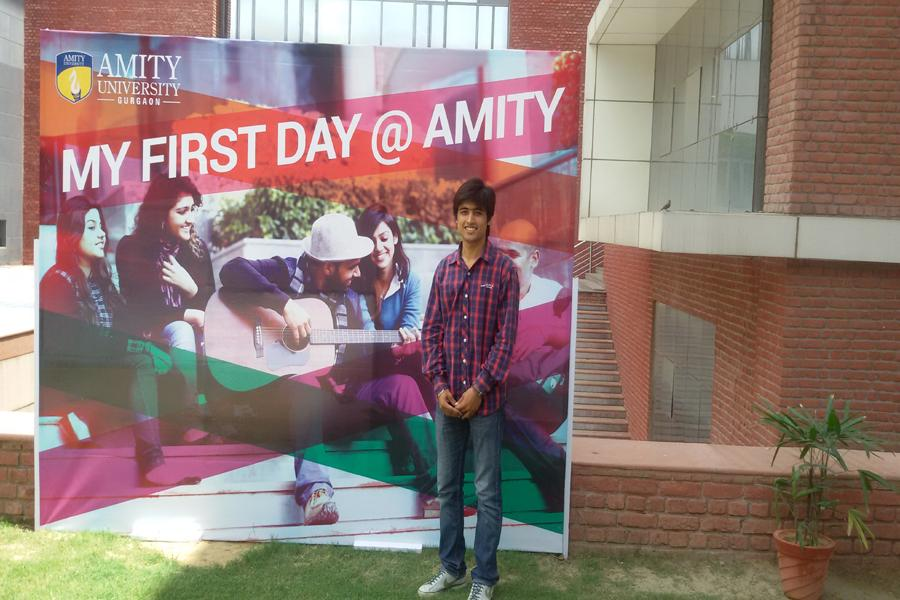 My First Day @ Amity ...Memories