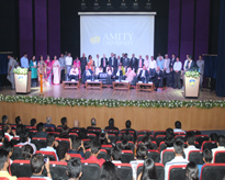 The galaxy of Dignitaries during the 5th Raising Day of the University