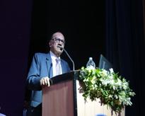 Hon'ble Chancellor, AUMP Prof (Dr) Sunil Saran during his address