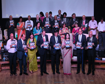 The Dignitaries releasing the annual number of the Amitian
