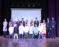 The participants of the cultural programme with the Dignitaries