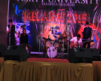 A lively performance during Melange 2015