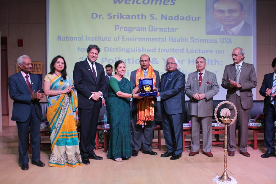 Amity University Gurgaon Confers Honoary Award to Dr. Nadaur