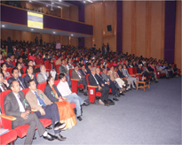 Audience during the inaugural session