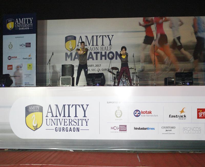 Amity Gurgaon Half Marathon  2017