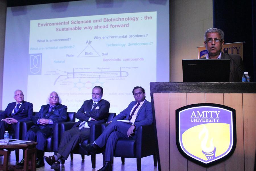 Prof I S Thakur, Dean Environmental Science, Jawaharlal Nehru University, New Delhi